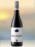 2019 Six Hats Pinotage Rotwein aus Südafrika